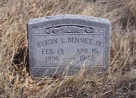 BENNET, BYRON L., JR. - Elbert County, Colorado | BYRON L., JR. BENNET - Colorado Gravestone Photos