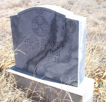 BENNET, JOHN B. - Elbert County, Colorado | JOHN B. BENNET - Colorado Gravestone Photos