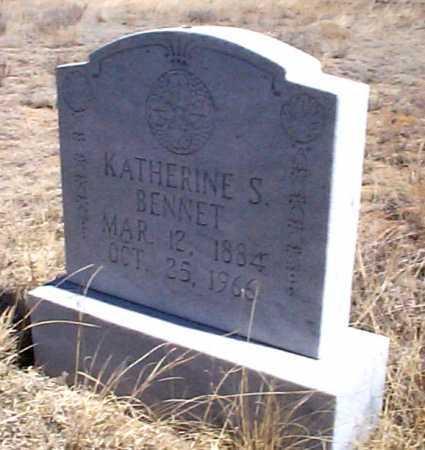 BENNET, KATHERINE S. - Elbert County, Colorado | KATHERINE S. BENNET - Colorado Gravestone Photos