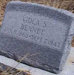 BENNET, VIOLA S. - Elbert County, Colorado | VIOLA S. BENNET - Colorado Gravestone Photos