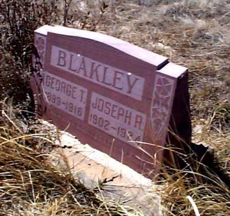 BLAKLEY, GEORGE T. - Elbert County, Colorado | GEORGE T. BLAKLEY - Colorado Gravestone Photos