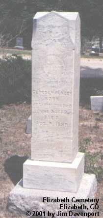 BLAZER, GEORGE W. - Elbert County, Colorado | GEORGE W. BLAZER - Colorado Gravestone Photos