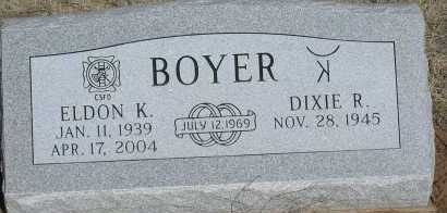 BOYER, ELDON K. - Elbert County, Colorado | ELDON K. BOYER - Colorado Gravestone Photos