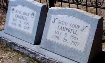 CAMPBELL, ROSE EMILY - Elbert County, Colorado | ROSE EMILY CAMPBELL - Colorado Gravestone Photos