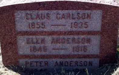 ANDERSON, ELEN - Elbert County, Colorado | ELEN ANDERSON - Colorado Gravestone Photos