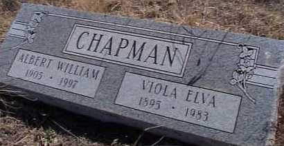 CHAPMAN, VIOLA ELVA - Elbert County, Colorado | VIOLA ELVA CHAPMAN - Colorado Gravestone Photos