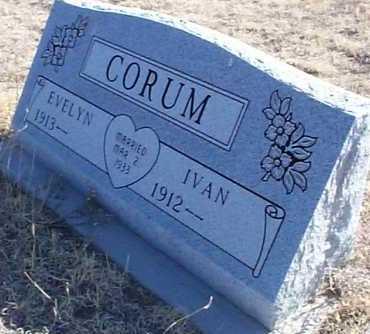 CORUM, IVAN - Elbert County, Colorado | IVAN CORUM - Colorado Gravestone Photos