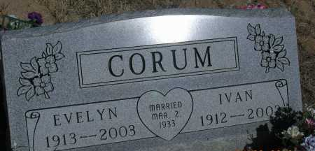 CORUM, IVAN - Elbert County, Colorado | IVAN CORUM - Colorado Gravestone Photos