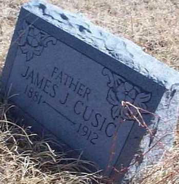 CUSIC, JAMES J. - Elbert County, Colorado | JAMES J. CUSIC - Colorado Gravestone Photos