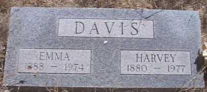 DAVIS, HARVEY - Elbert County, Colorado | HARVEY DAVIS - Colorado Gravestone Photos