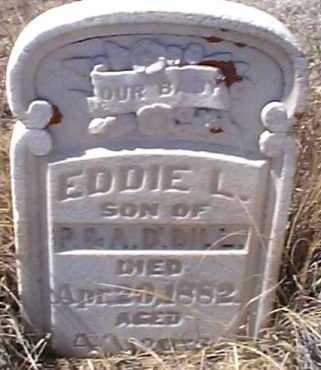 DILL, EDDIE L. - Elbert County, Colorado | EDDIE L. DILL - Colorado Gravestone Photos
