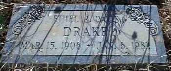DAVIS DRAKE, ETHEL R. - Elbert County, Colorado | ETHEL R. DAVIS DRAKE - Colorado Gravestone Photos
