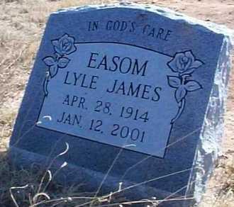 EASOM, LYLE JAMES - Elbert County, Colorado | LYLE JAMES EASOM - Colorado Gravestone Photos