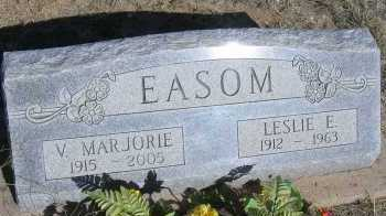 EASOM, V. MARJORIE - Elbert County, Colorado | V. MARJORIE EASOM - Colorado Gravestone Photos