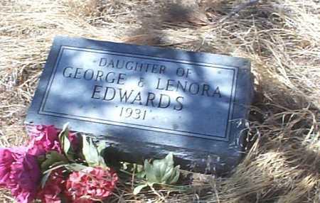 EDWARDS, BABY GIRL - Elbert County, Colorado   BABY GIRL EDWARDS - Colorado Gravestone Photos