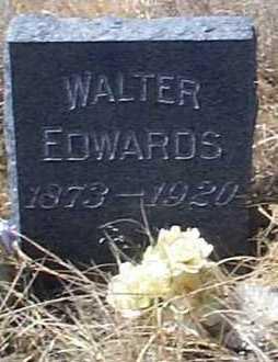 EDWARDS, WALTER - Elbert County, Colorado | WALTER EDWARDS - Colorado Gravestone Photos