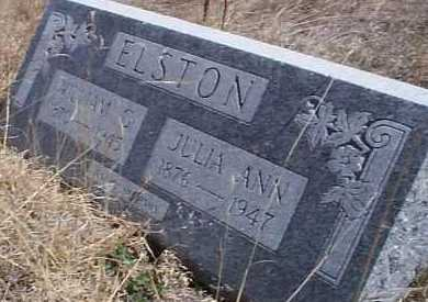 ELSTON, JULIA ANN - Elbert County, Colorado | JULIA ANN ELSTON - Colorado Gravestone Photos