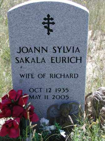 SAKALA EURICH, JOANN - Elbert County, Colorado | JOANN SAKALA EURICH - Colorado Gravestone Photos