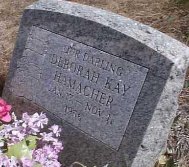 HAMACHER, DEBORAH KAY - Elbert County, Colorado | DEBORAH KAY HAMACHER - Colorado Gravestone Photos