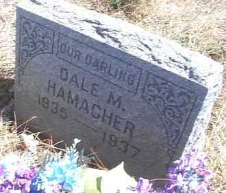 HAMACHER, DALE M. - Elbert County, Colorado | DALE M. HAMACHER - Colorado Gravestone Photos