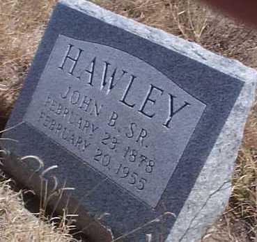 HAWLEY, JOHN B., SR. - Elbert County, Colorado | JOHN B., SR. HAWLEY - Colorado Gravestone Photos