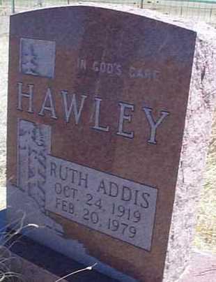 HAWLEY, RUTH ADDIS - Elbert County, Colorado | RUTH ADDIS HAWLEY - Colorado Gravestone Photos