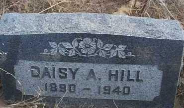 HILL, DAISY A. - Elbert County, Colorado   DAISY A. HILL - Colorado Gravestone Photos