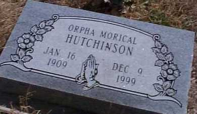 HUTCHINSON, ORPHA - Elbert County, Colorado | ORPHA HUTCHINSON - Colorado Gravestone Photos