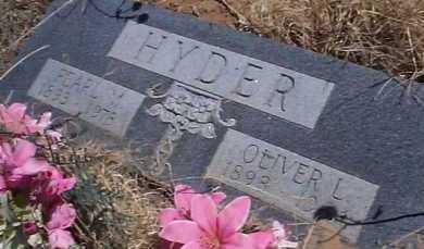 HYDER, OLIVER L. - Elbert County, Colorado   OLIVER L. HYDER - Colorado Gravestone Photos