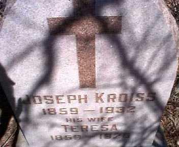 KROISS, JOSEPH - Elbert County, Colorado | JOSEPH KROISS - Colorado Gravestone Photos