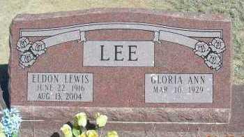 LEE, ELDON LEWIS - Elbert County, Colorado | ELDON LEWIS LEE - Colorado Gravestone Photos
