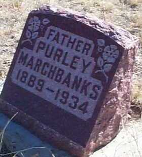 MARCHBANKS, PURLEY - Elbert County, Colorado | PURLEY MARCHBANKS - Colorado Gravestone Photos