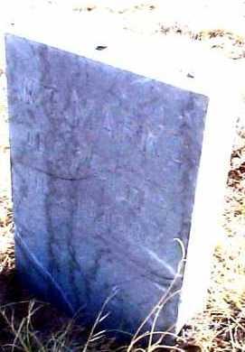 MARKS, W. T. - Elbert County, Colorado | W. T. MARKS - Colorado Gravestone Photos