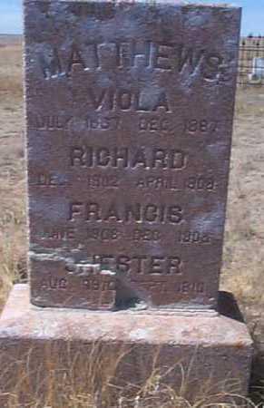 MATTHEWS, VIOLA - Elbert County, Colorado | VIOLA MATTHEWS - Colorado Gravestone Photos
