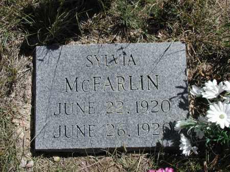 MCFARLIN, SYLVIA - Elbert County, Colorado | SYLVIA MCFARLIN - Colorado Gravestone Photos
