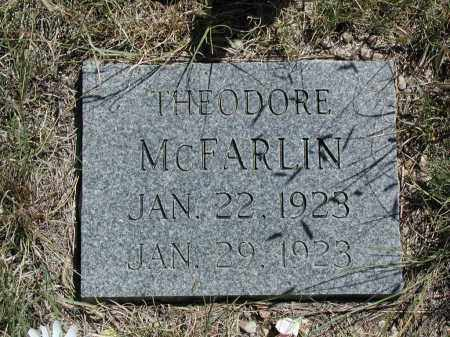MCFARLIN, THEODORE - Elbert County, Colorado | THEODORE MCFARLIN - Colorado Gravestone Photos