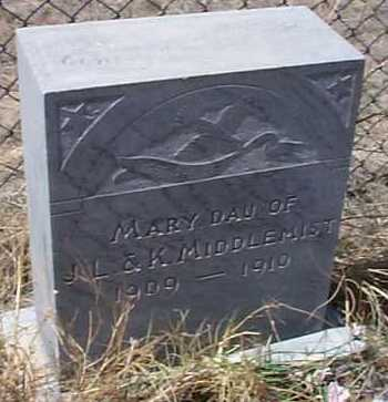 MIDDLEMIST, MARY - Elbert County, Colorado | MARY MIDDLEMIST - Colorado Gravestone Photos