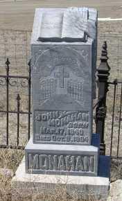 MONAHAN, JOHN - Elbert County, Colorado | JOHN MONAHAN - Colorado Gravestone Photos