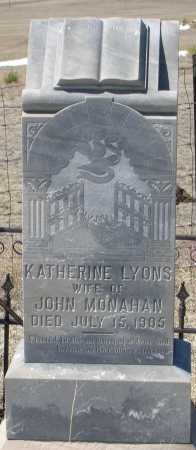 LYONS MONAHAN, KATHERINE - Elbert County, Colorado | KATHERINE LYONS MONAHAN - Colorado Gravestone Photos
