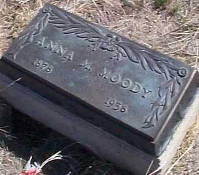 MOODY, ANNA M. - Elbert County, Colorado | ANNA M. MOODY - Colorado Gravestone Photos