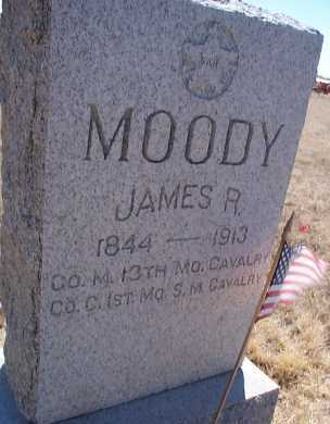MOODY, JAMES R. - Elbert County, Colorado | JAMES R. MOODY - Colorado Gravestone Photos