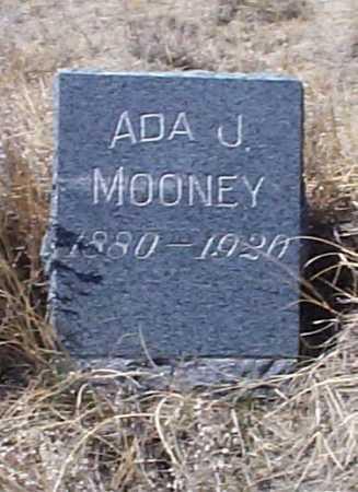 MOONEY, ADA J. - Elbert County, Colorado   ADA J. MOONEY - Colorado Gravestone Photos