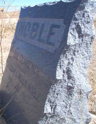 NOBLE, JOE CLARENCE - Elbert County, Colorado | JOE CLARENCE NOBLE - Colorado Gravestone Photos