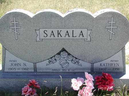 SAKALA, KATHRYN - Elbert County, Colorado | KATHRYN SAKALA - Colorado Gravestone Photos