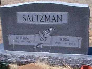 SALTZMAN, WILLIAM - Elbert County, Colorado | WILLIAM SALTZMAN - Colorado Gravestone Photos