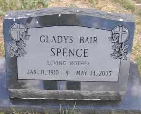 BAIR SPENCE, GLADYS - Elbert County, Colorado | GLADYS BAIR SPENCE - Colorado Gravestone Photos