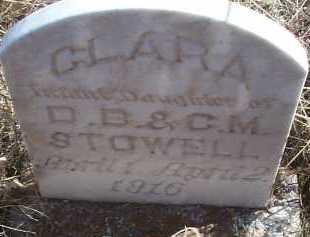 STOWELL, CLARA - Elbert County, Colorado | CLARA STOWELL - Colorado Gravestone Photos