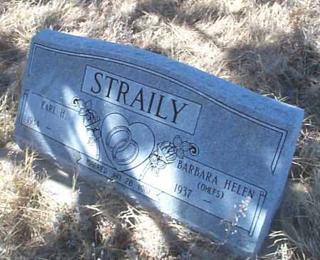 STRAILY, BARBARA HELEN - Elbert County, Colorado | BARBARA HELEN STRAILY - Colorado Gravestone Photos