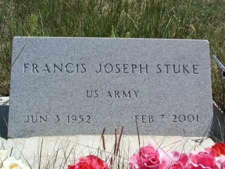 STUKE, FRANCIS - Elbert County, Colorado | FRANCIS STUKE - Colorado Gravestone Photos