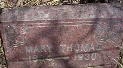 THOMAS, MARY - Elbert County, Colorado   MARY THOMAS - Colorado Gravestone Photos